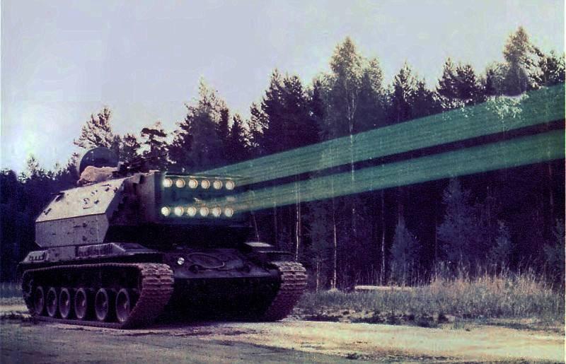 В России возрождён проект лазерного комплекса «Сжатие»
