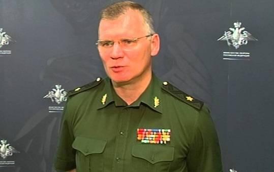 В МО РФ назвали ложью публикации о бомбардировках Идлиба самолётами ВКС РФ