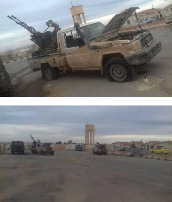 Сирийская армия существенно продвинулась в районе Пальмиры