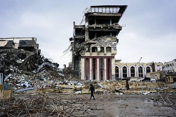 Пентагон: террористы производили иприт в здании мосульского университета
