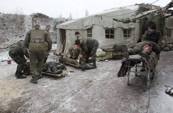 Статистика потерь ВСУ с начала обострения ситуации на Донбассе