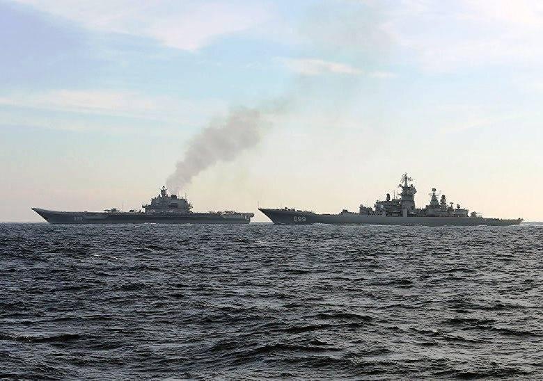 «Пётр Великий» вернулся к берегам России