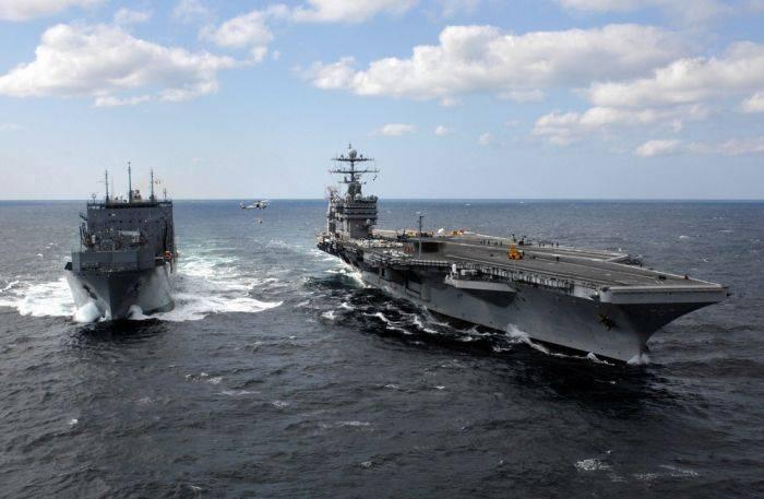 «Make ВМФ США great again»