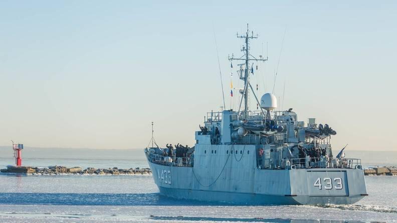 """Корабль ВМС Эстонии """"Wambola"""" позвали на учения НАТО"""