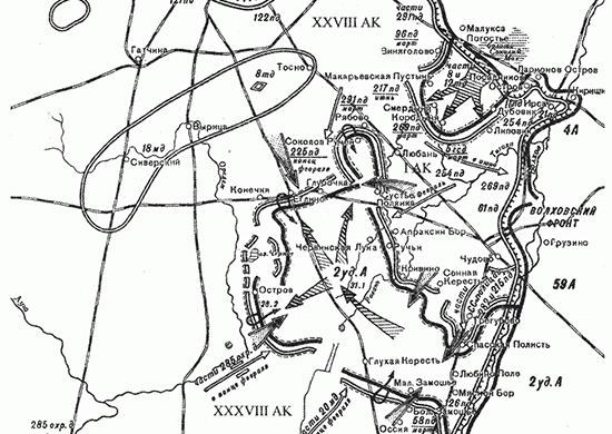 Любанская наступательная операция (7 января – 30 апреля 1942 г.)