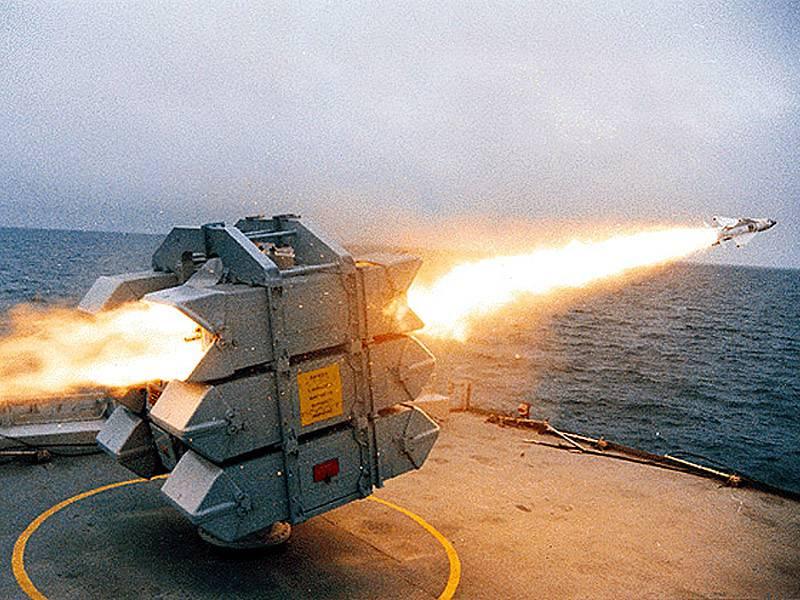 Фолклендская война. Зенитный огонь кораблей