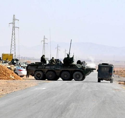 Сирийцы дают высокую оценку БТР-82А