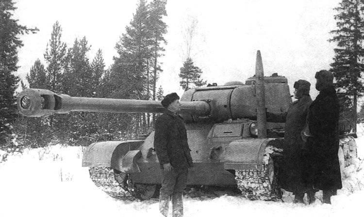 Немного о Т-44-122