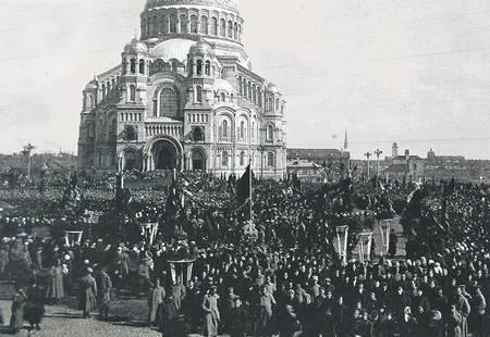 Февраль 1917 года в провинции