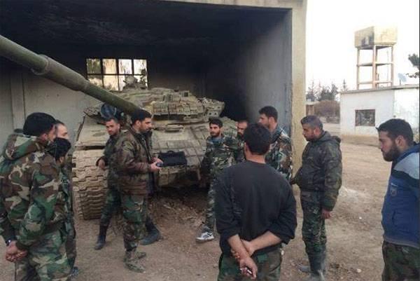 Сирийская армия продвигается к Пальмире и блокирует ИГ* в Эль-Бабе