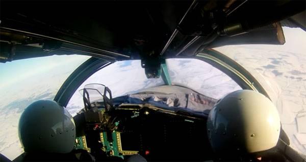 Самолёты Су-34 отработали нанесение ударов по целям на воронежском полигоне
