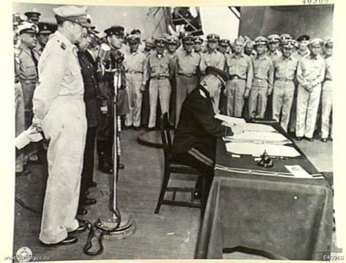 Имя генерала, подписавшего акт о капитуляции Японии, увековечили в названии острова Курильской гряды