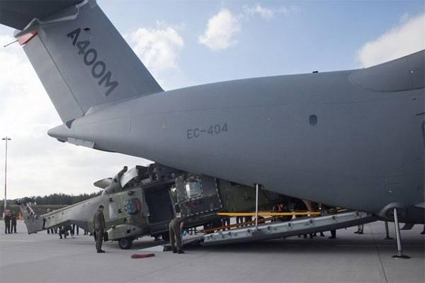 Семь из восьми военных транспортников ВВС Германии не готовы к полётам