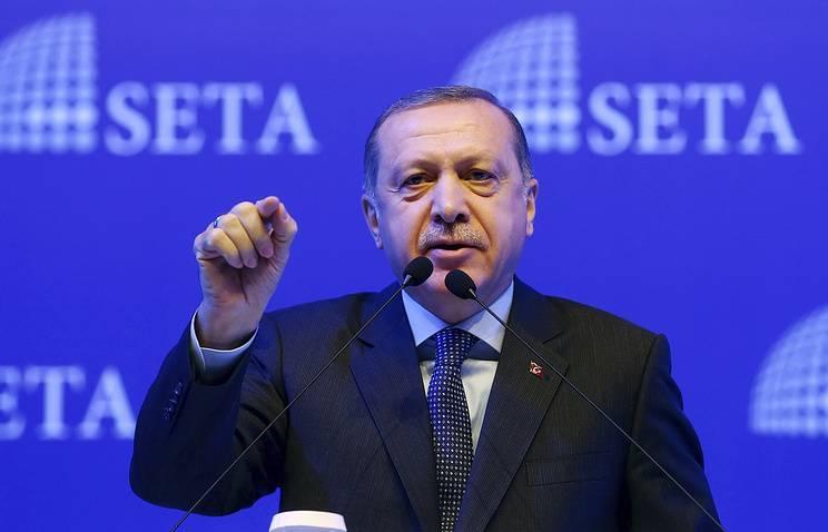 Эрдоган: финальной целью операции «Щит Евфрата» является Ракка