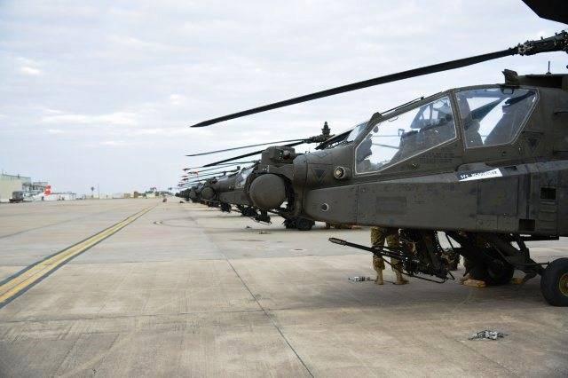 """В ФРГ доставлены 94 американских вертолета для """"сдерживания России"""""""