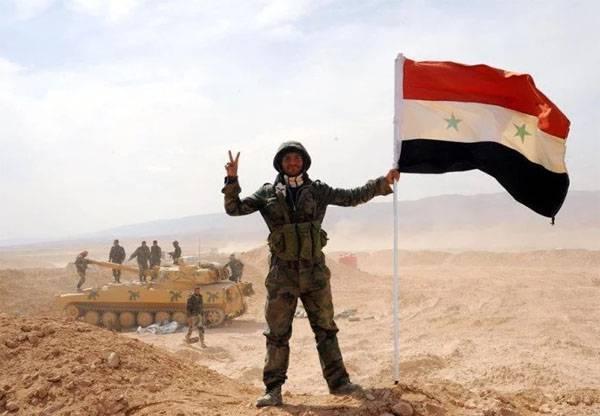 Сирийская армия заняла территорию газовых месторождений под Пальмирой