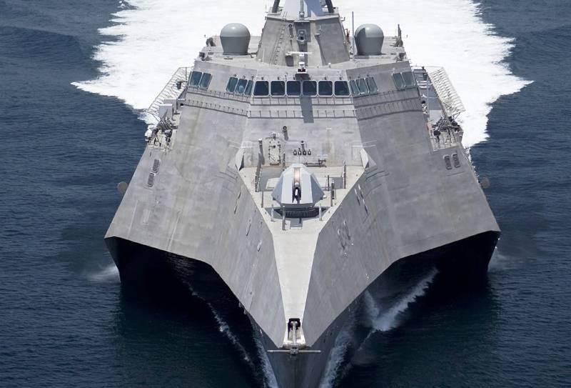 В США состоялась церемония крещения очередного корабля типа «Индепенденс»