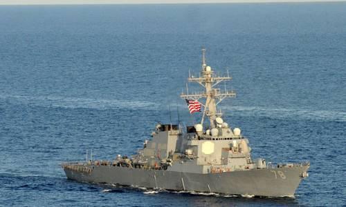 В МО РФ опровергают данные Пентагона об инциденте с эсминцем ВМС США в Чёрном море
