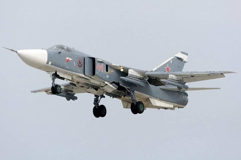 Die Syrien-Staffel wird auf die Su-24М2 übertragen