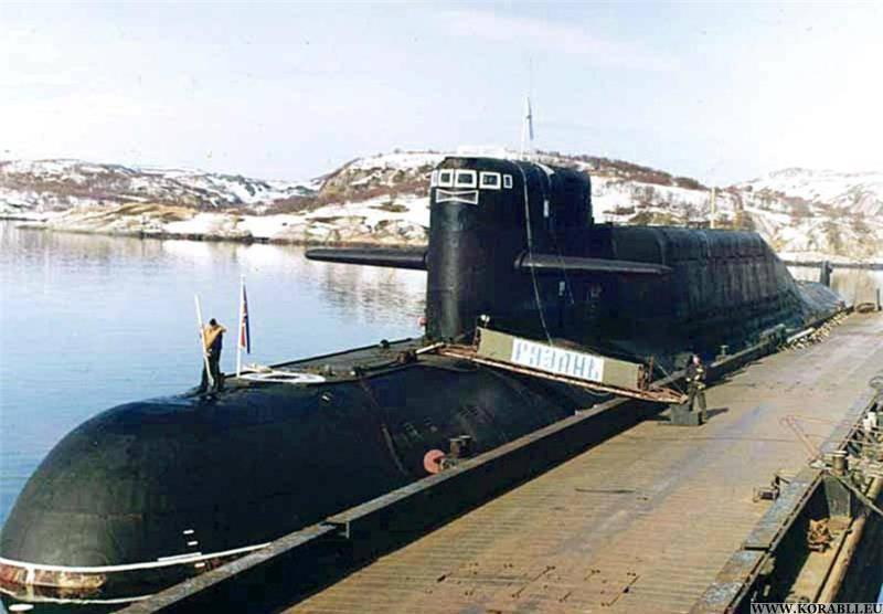 АПЛ «Рязань» возвратилась в Вилючинск после прохождения ремонта и модернизации