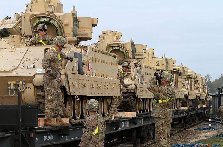 Снабженцы НАТО проведут учения в Восточной Европе