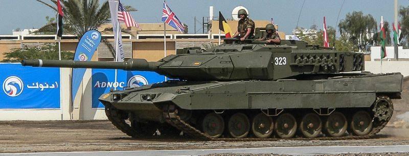 Испания направляет войска в Латвию