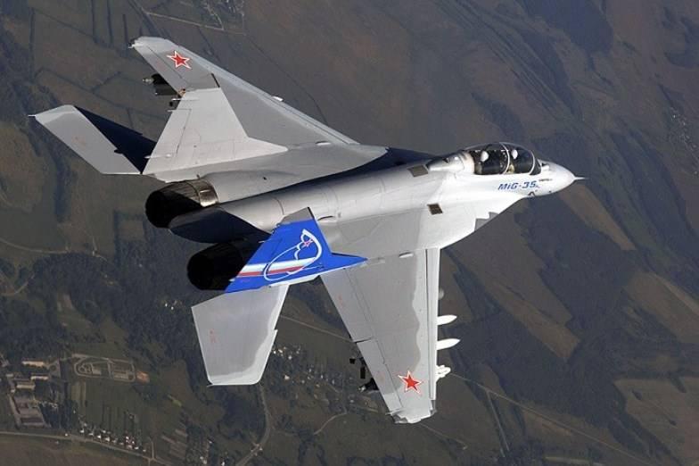 Das Verteidigungsministerium in 2018 kann mehr als 30-Kämpfer MiG-35 bestellen
