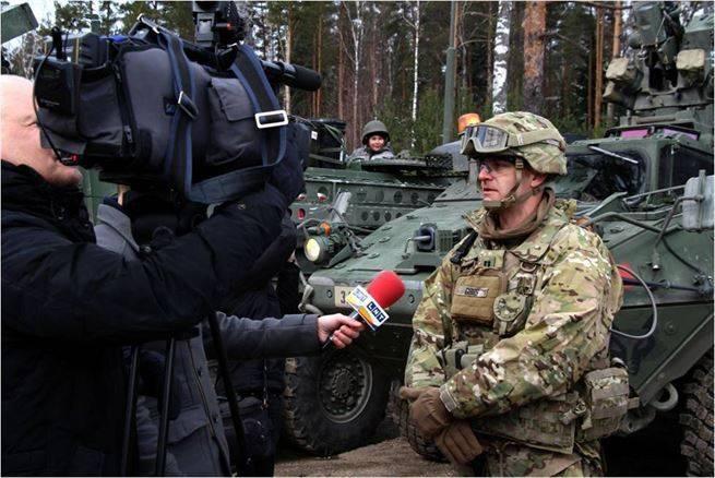 A Letónia renuncia ao direito de julgar o pessoal militar do contingente dos EUA