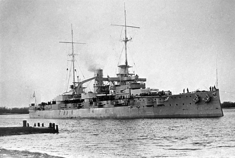 Russische Flotte im Ersten Weltkrieg und ihre Kampfkraft. Teil von 6