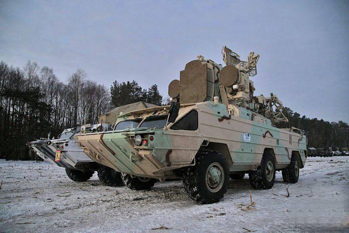 Neue Modernisierung des Osa-Luftverteidigungssystems in Belarus