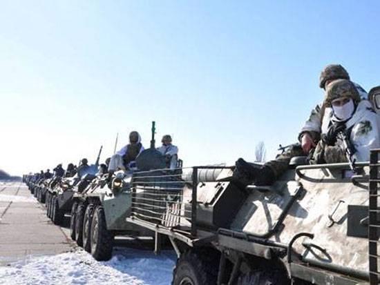 Die APU gab unter Avdeevka eine Detonation ihrer eigenen Munition aus, weil sie von der DVR beschossen worden war