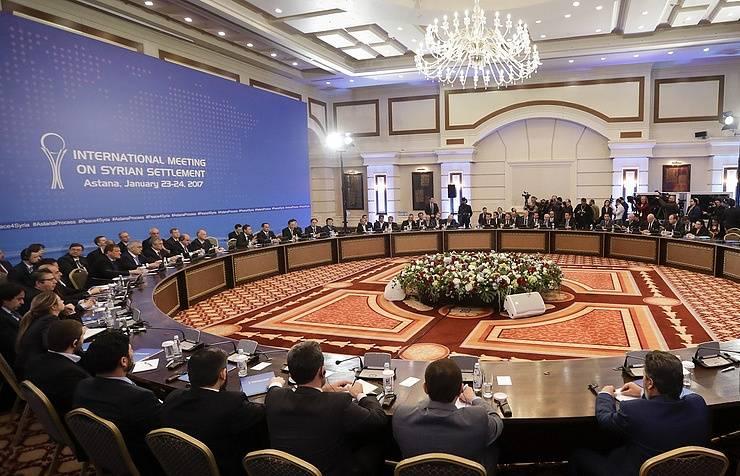 Astana sediou a terceira reunião na Síria