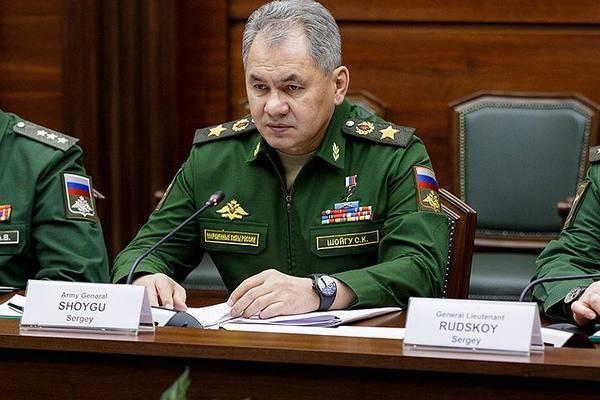 Шойгу: Точная карта с разделением умеренной оппозиции и террористов в Сирии будет готова в ближайшие дни