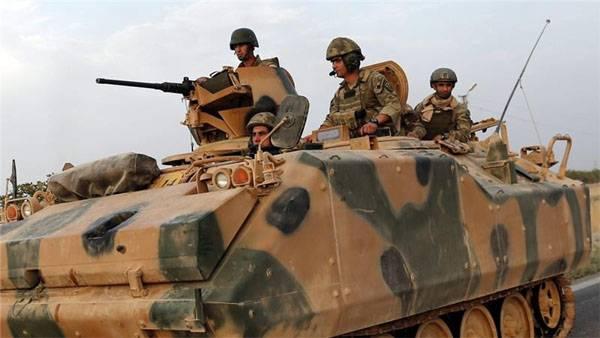 Турецкие войска всё активнее наступают на позиции курдов в Сирии