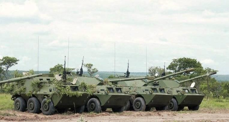 Ангольская армия осваивает китайскую бронетехнику