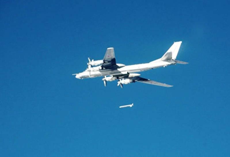 Российские Ту-95С нанесли удар по террористам в районе Ракки