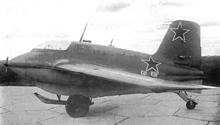 Истребитель Ме.163 Komet в руках победителей