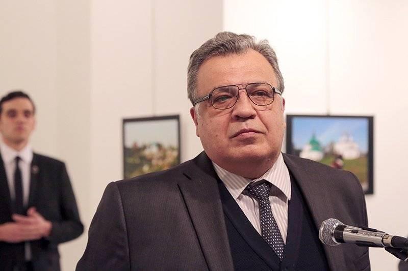 Foto tirada em um diplomata russo