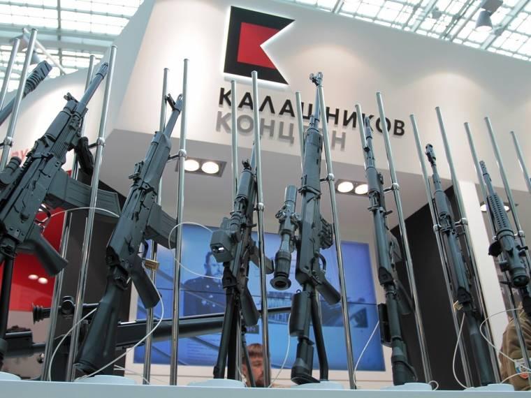 Kalashnikov mostra il kit di modernizzazione delle armi leggere civili