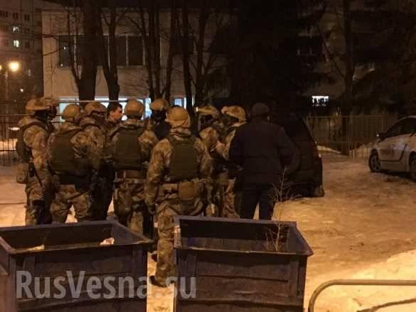 A Kharkov, c'è stata una sparatoria tra le due fazioni