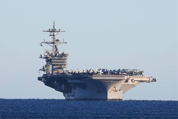 Grupo de porta-aviões da Marinha dos EUA entrou no Mar do Sul da China