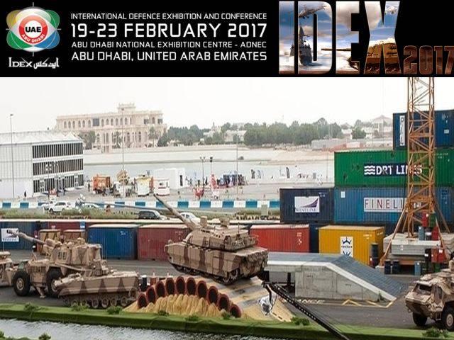Una mostra di armi inizia ad Abu Dhabi