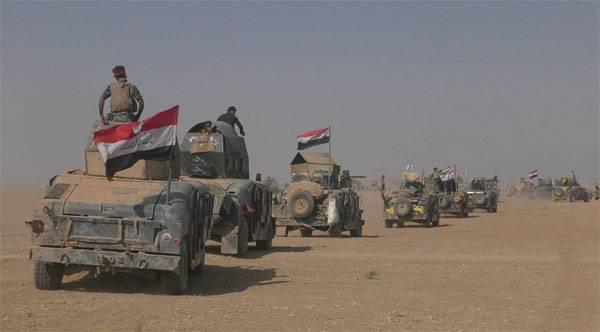 Generais iraquianos relatam sucessos militares em Mosul