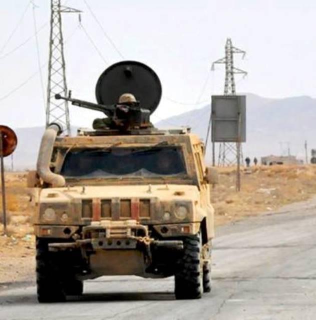 Versione siriana dell'auto blindata Lynx