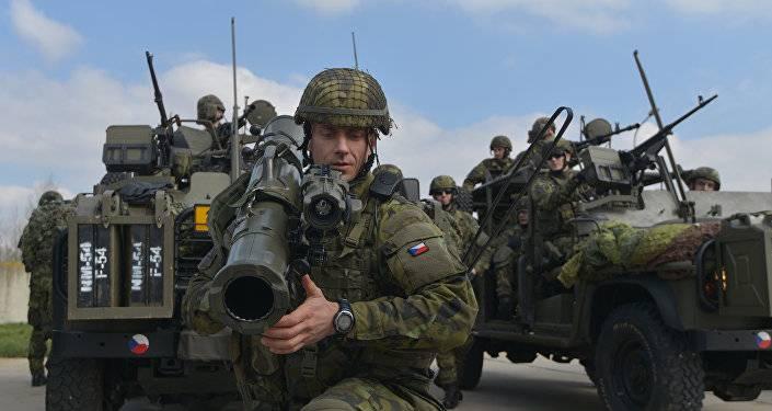 Очередной инцидент с пьяными натовскими военными в Литве