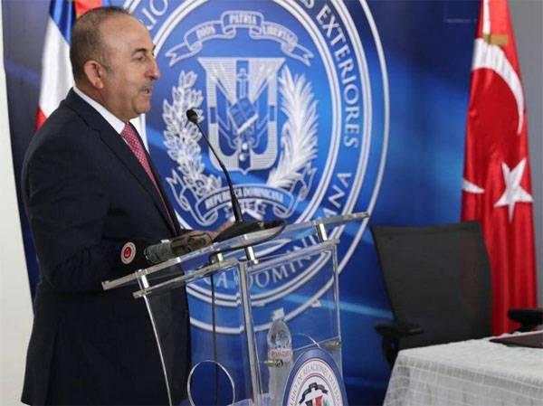 MFA turco: avisar os EUA contra o apoio às forças armadas curdas na Síria