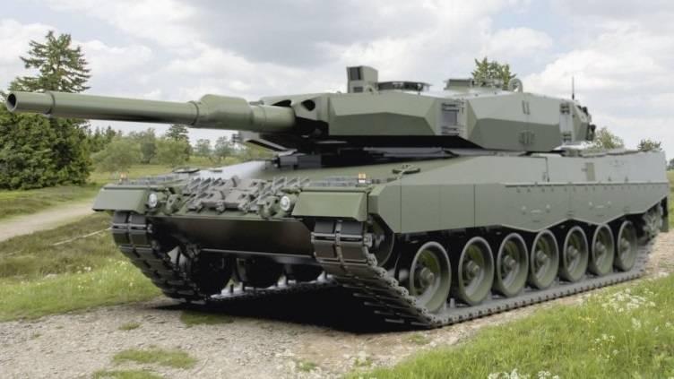 Diseñado por Leopard 2 PL para el ejército polaco