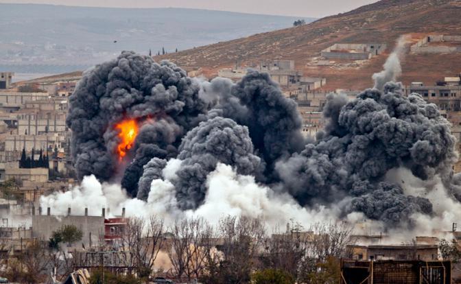 Prueba de guerra siria