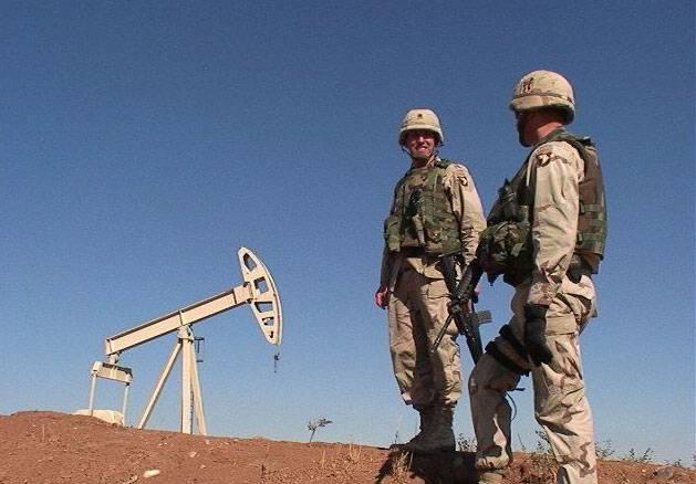 Os Estados Unidos não declararam alegações sobre o petróleo iraquiano.