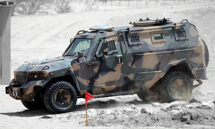 Украинские пограничники в Измаиле получили бронеавтомобили «Кугуар»